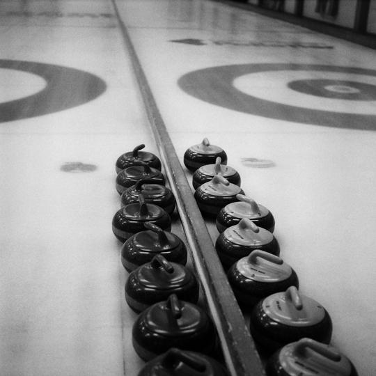 Curling / Québec, p.Q  2008 / Annie-Ève Dumontier