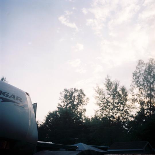 Camping / St-Jean Baptiste de Rouville, P.Q, 2008 / Annie-Ève Dumontier