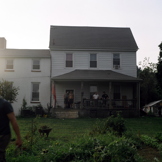Punk-house / Baltimore, Maryland, 2009 / Annie-Ève Dumontier