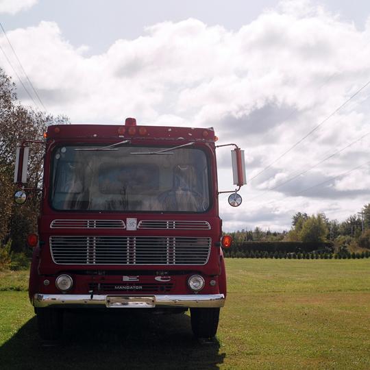 Camion de pompier / St-R.dempteur, p.Q 2009 / Annie-Ève Dumontier