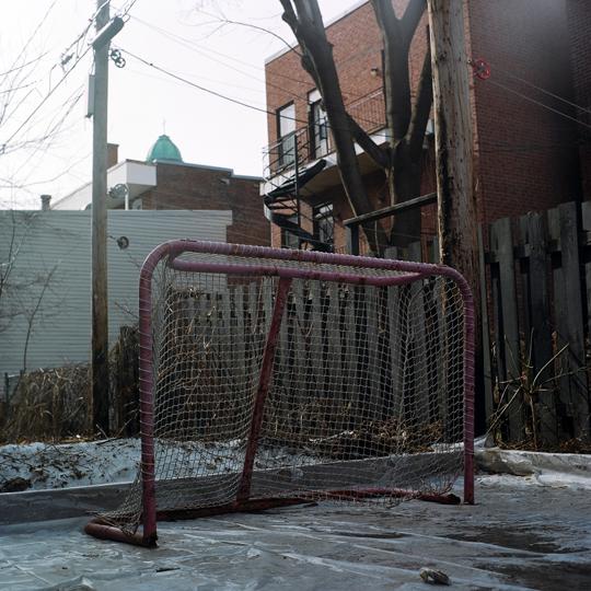 patinoire de ruelle